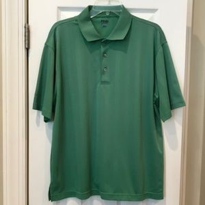PING green golf polo shirt